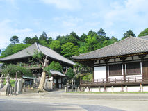 Buildings associated with Todaiji temple Royalty Free Stock Images
