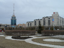Buildings in Astana Royalty Free Stock Photo