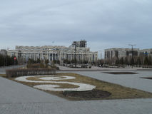Buildings in Astana Stock Image