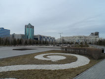 Buildings in Astana Stock Images