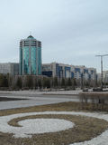 Buildings in Astana Royalty Free Stock Image