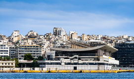The buildings of Athens Stock Images
