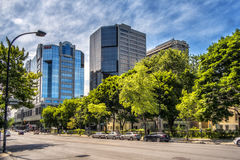 Buildings on Atwater Avenue. Atwater Avenue officially in French: avenue Atwater is a major north-south street located in Montreal, Quebec, Canada. It links Royalty Free Stock Images