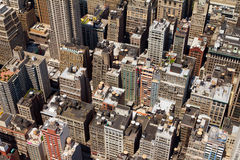 Buildings Background Texture New York Royalty Free Stock Photography