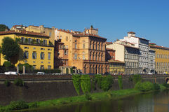 Buildings on the bank, Florence Stock Photography