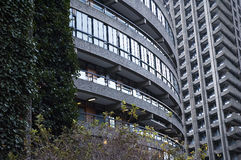 Buildings in Barbican, London Royalty Free Stock Image