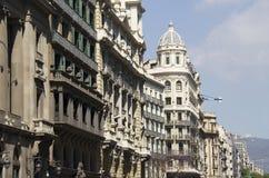 Buildings in Barcelona, Spain Stock Image