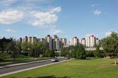 buildings in the beijing Stock Photo
