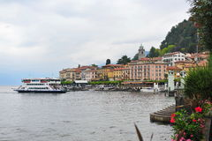 Buildings in Bellagio at Lake Como, Italy Stock Photography