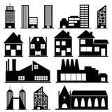 Buildings royalty free stock photos
