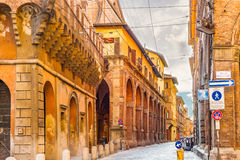 Buildings in bologna, Italy Stock Photography