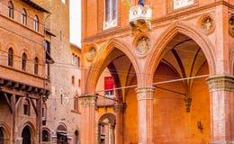 Buildings in bologna, Italy Royalty Free Stock Photos