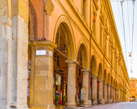 Buildings in bologna, Italy Royalty Free Stock Photo