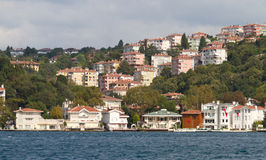 Buildings in Bosphorus Strait Stock Photos