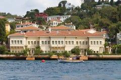 Buildings in Bosphorus Strait Stock Image