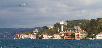 Buildings in Bosphorus Strait Stock Photo
