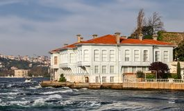 Buildings in Istanbul City, Turkey Royalty Free Stock Images