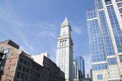 Buildings in Boston Mass stock photo