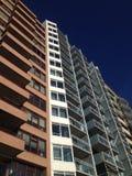 Buildings boulevard vlissingen flats sky balcony Stock Photography