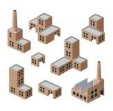 Buildings of brick Royalty Free Stock Photo