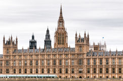 Buildings of British Parliament westminste Royalty Free Stock Photography