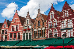 Buildings in Bruges Stock Photo