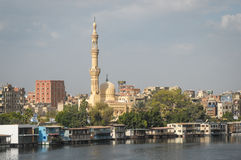 Buildings in Cairo, Egypt Royalty Free Stock Image