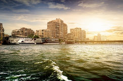 Buildings of Cairo Stock Images