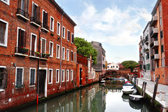 Buildings and canal in Venice, Italy Royalty Free Stock Photos
