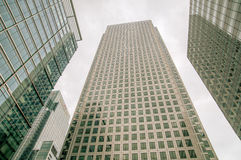 Buildings in Canary Wharf - London Stock Images