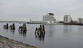 Buildings from Cardiff bay Royalty Free Stock Image