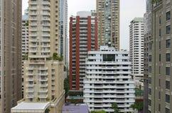 Buildings in the center of Bangkok Royalty Free Stock Photos
