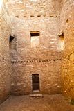 Buildings in Chaco Culture National Historical Park, New Mexico, Royalty Free Stock Image