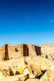 Buildings in Chaco Culture National Historical Park, NM, USA Stock Photo