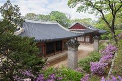 Buildings at the Changgyeonggung Palace in Seoul Stock Images