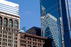 Buildings in chicago Stock Image