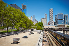 Buildings in Chicago Royalty Free Stock Images
