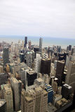 Buildings of Chicago viewed from an elevation. Color photo image of Buildings of Chicago viewed from an elevation Royalty Free Stock Photos