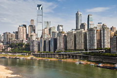 Buildings of Chongqing Royalty Free Stock Images