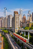 Buildings of Chongqing Stock Photo