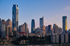 Buildings of Chongqing Stock Image