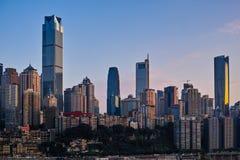 Buildings of Chongqing Stock Image