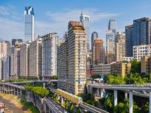 Buildings of Chongqing Royalty Free Stock Photos