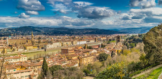 Buildings  and churches of Florence Royalty Free Stock Images