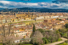 Buildings  and churches of Florence Royalty Free Stock Image
