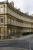 Buildings at the Circus crescent, Bath Royalty Free Stock Images