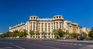 Buildings in the city center of Bucharest Stock Photos