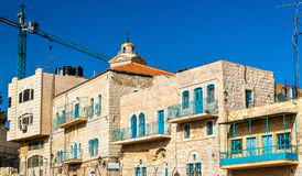 Buildings in the city centre of Bethlehem Royalty Free Stock Photos