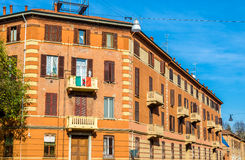 Buildings in the city centre of Ferrara Stock Photography