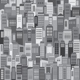 Buildings In The City Pattern Background Stock Photography